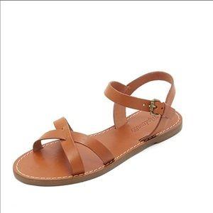 Madewell boardwalk crisscross sandal
